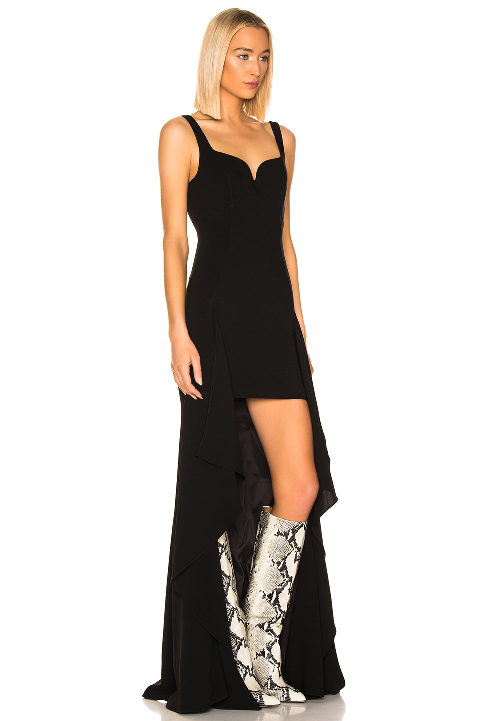 Image 2 of Cinq a Sept Lottie Gown in Black