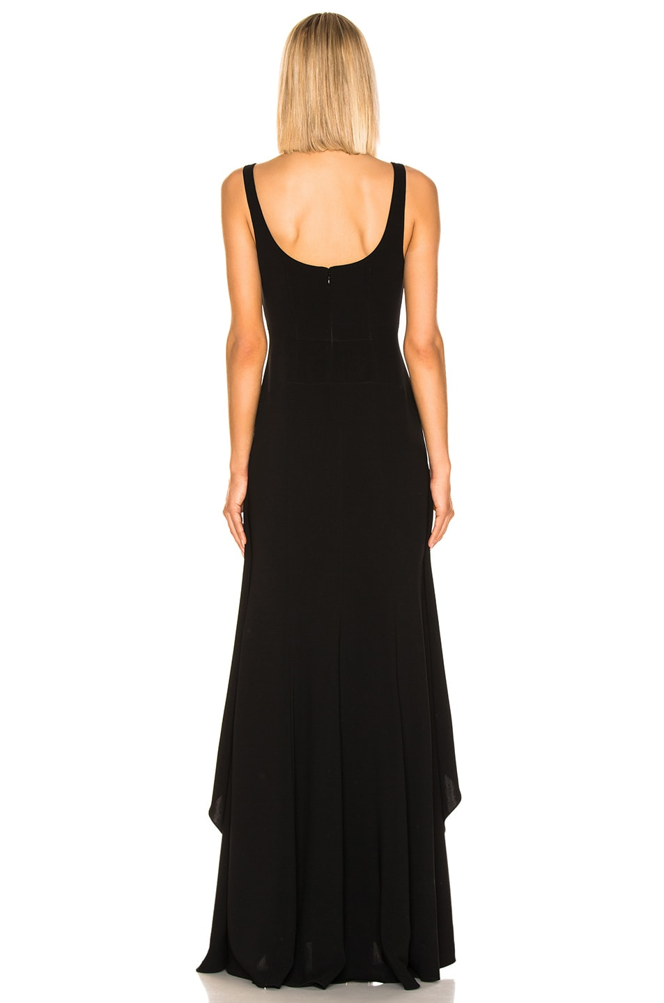 Image 3 of Cinq a Sept Lottie Gown in Black