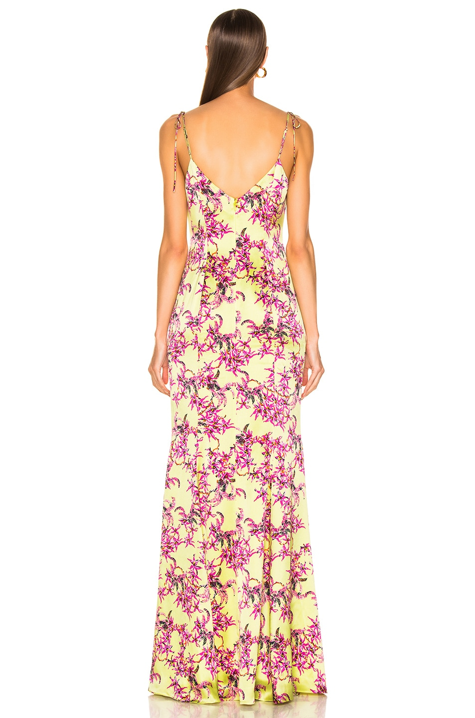 Image 4 of Cinq a Sept Velma Gown in Lemon Grass Multi
