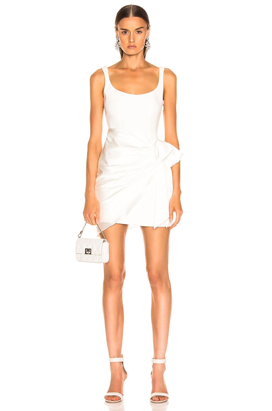 Image 1 of Cinq a Sept Waverly Dress in Ivory