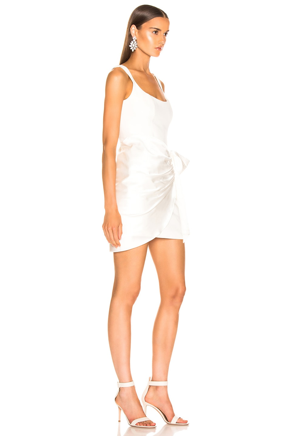 Image 2 of Cinq a Sept Waverly Dress in Ivory