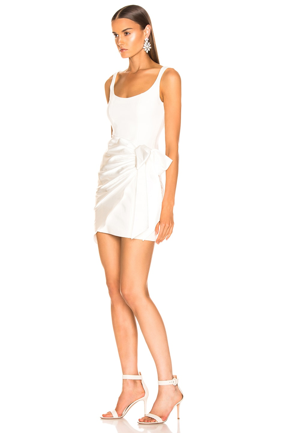 Image 3 of Cinq a Sept Waverly Dress in Ivory