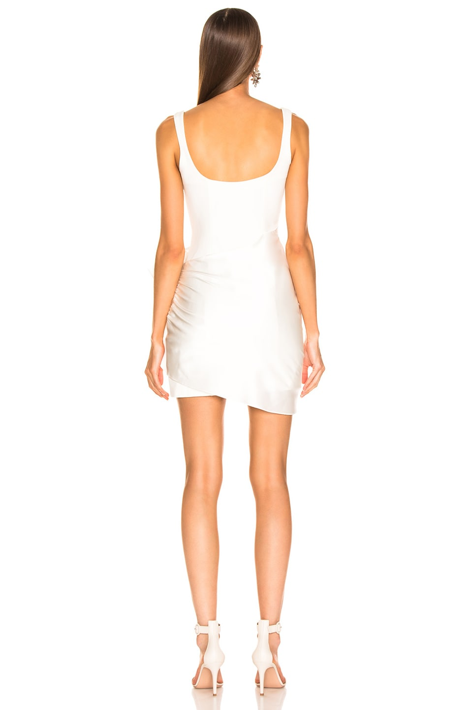 Image 4 of Cinq a Sept Waverly Dress in Ivory