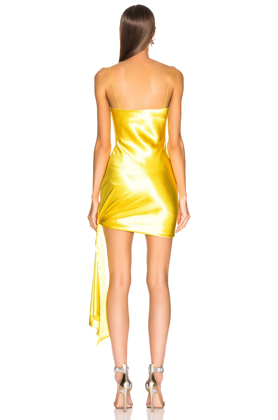Image 4 of Cinq a Sept Ryder Dress in Lemon