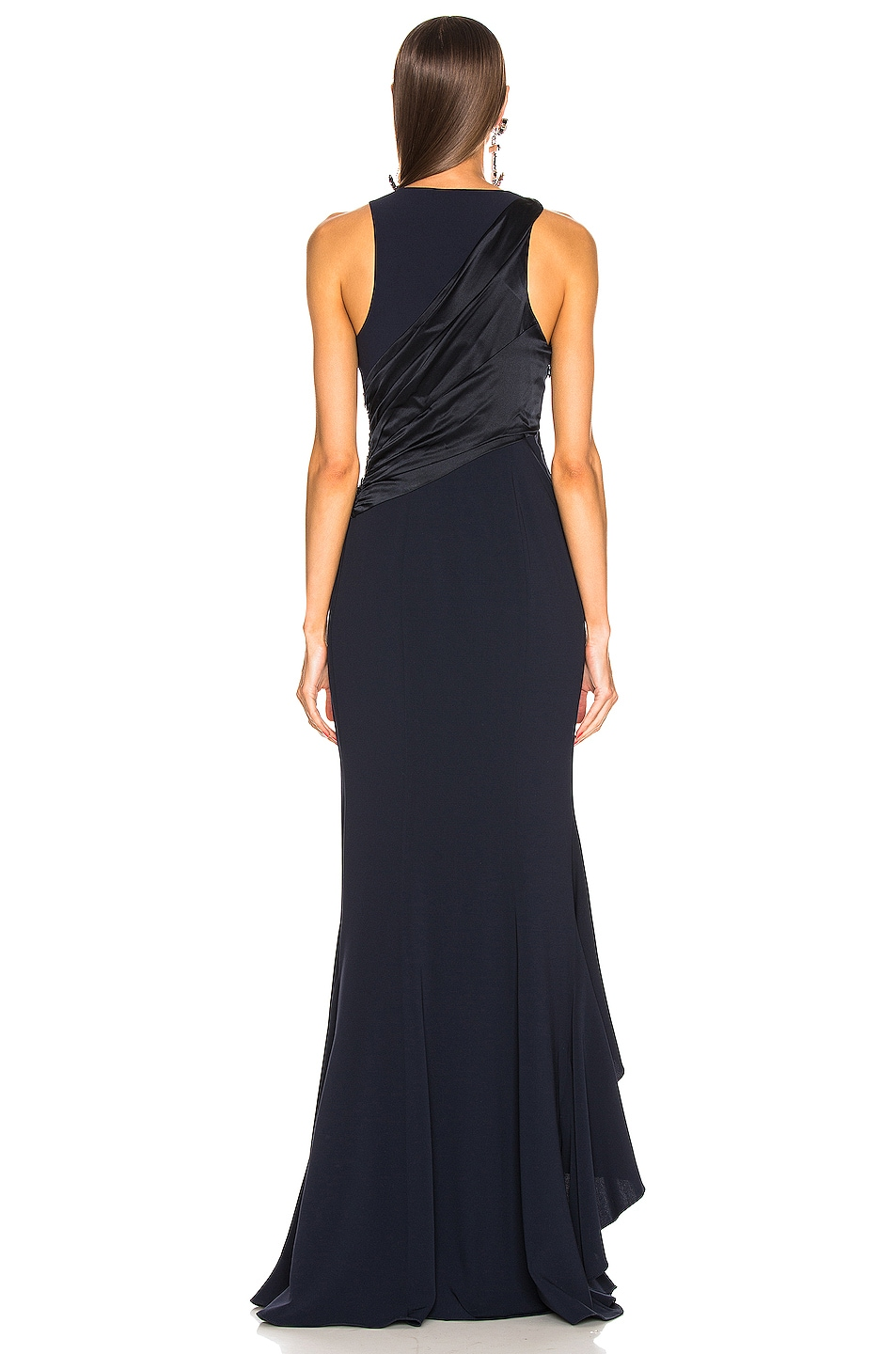 Image 3 of Cinq a Sept Iris Gown in Navy