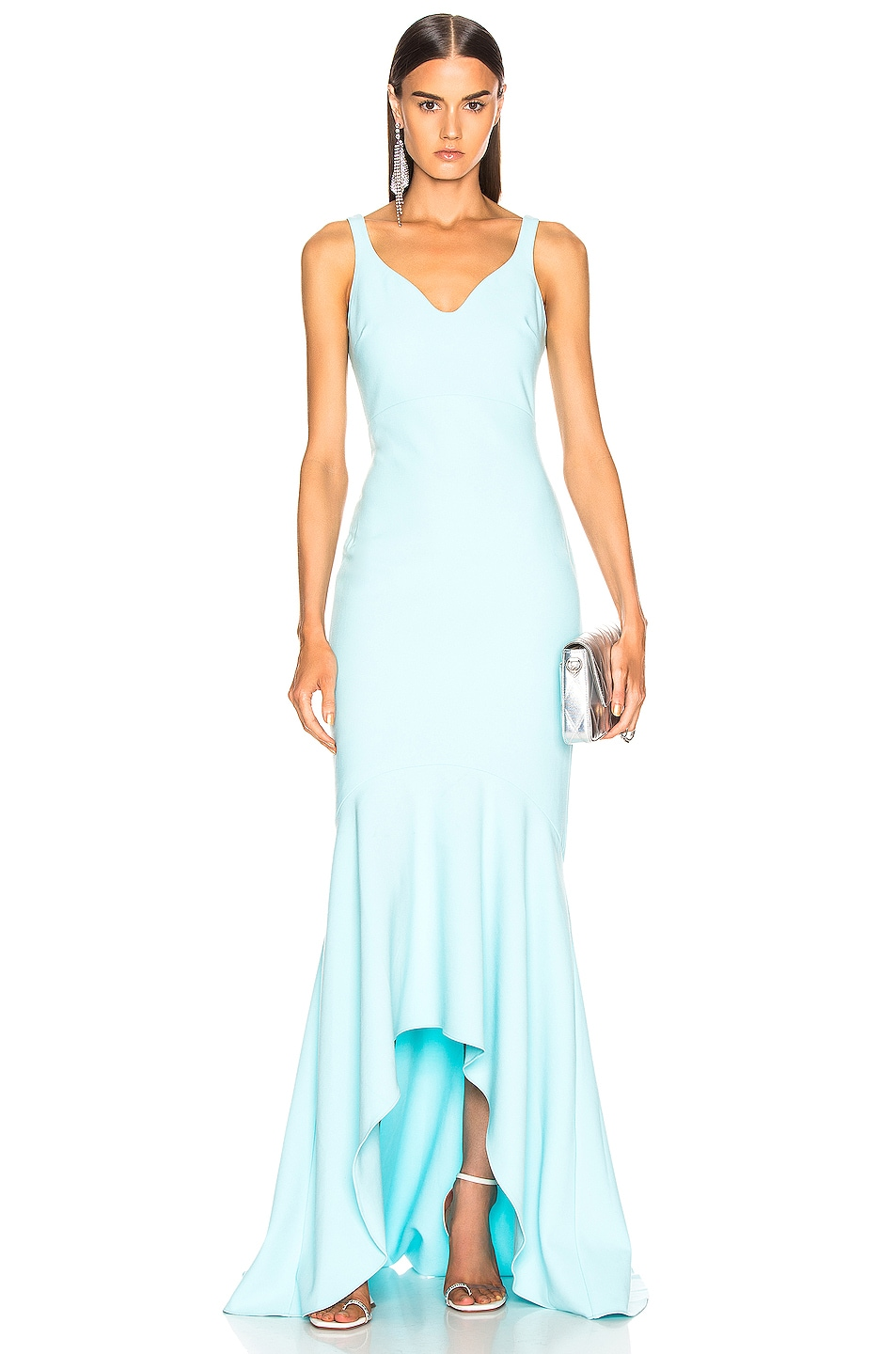 Image 1 of Cinq a Sept Sade Gown in Blue Topaz
