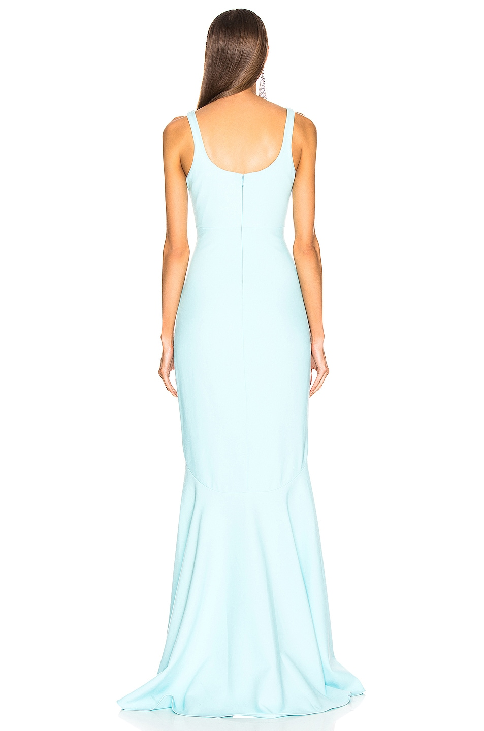 Image 2 of Cinq a Sept Sade Gown in Blue Topaz