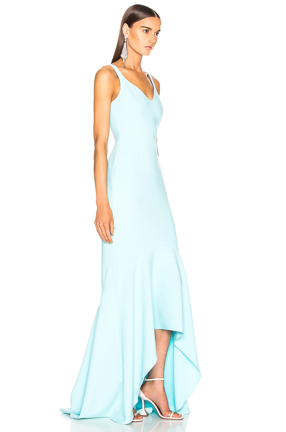 Image 3 of Cinq a Sept Sade Gown in Blue Topaz