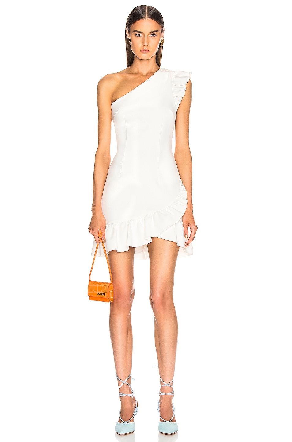 Image 1 of Cinq a Sept Soleil Dress in Ivory