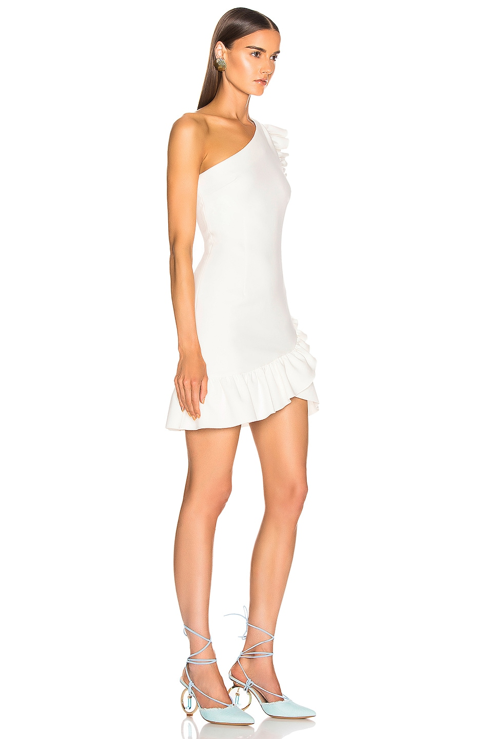 Image 2 of Cinq a Sept Soleil Dress in Ivory