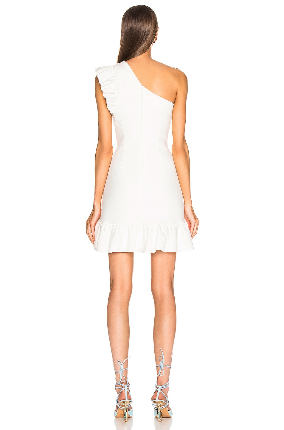 Image 4 of Cinq a Sept Soleil Dress in Ivory