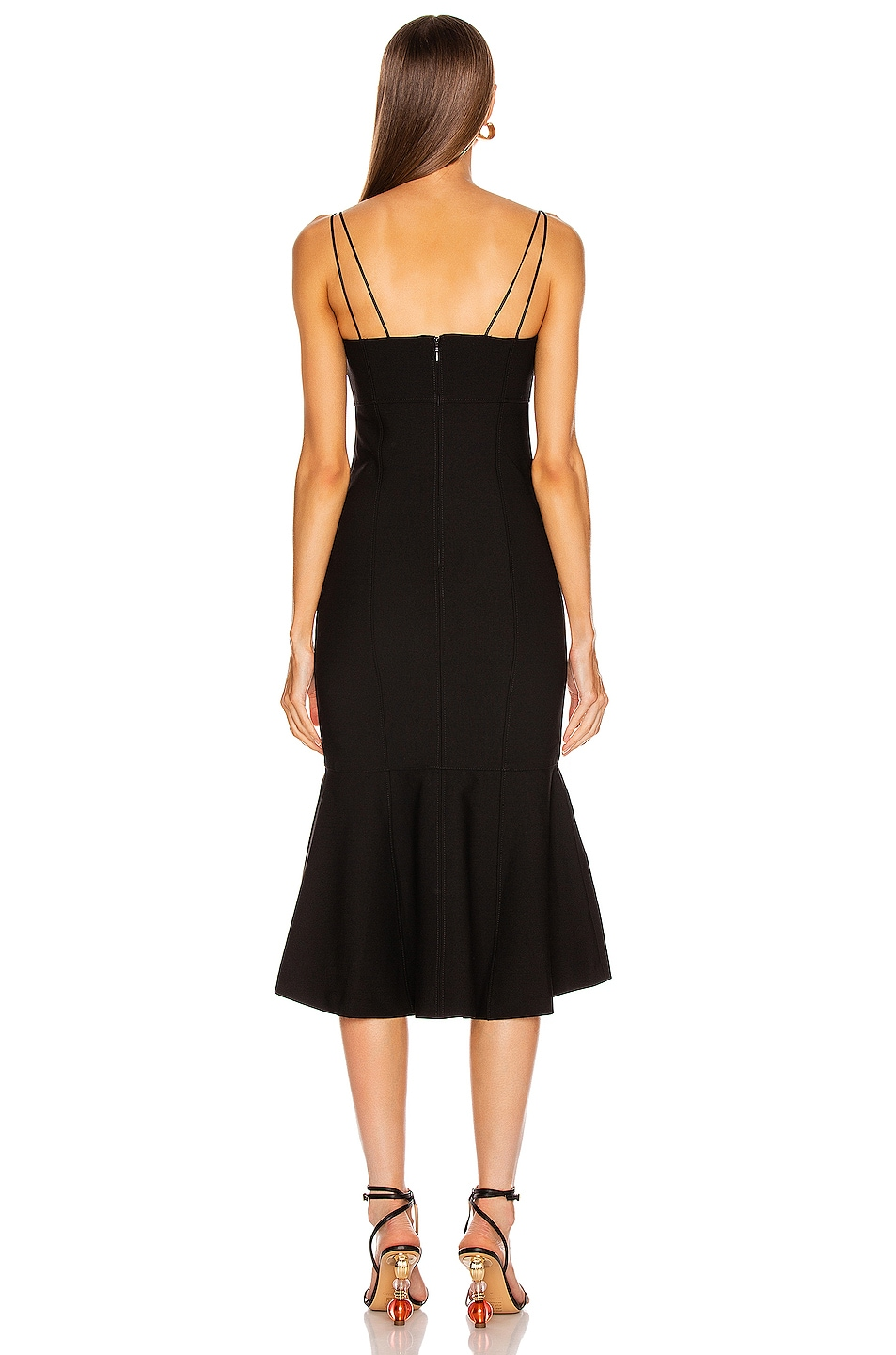 Image 3 of Cinq a Sept Salina Dress in Black