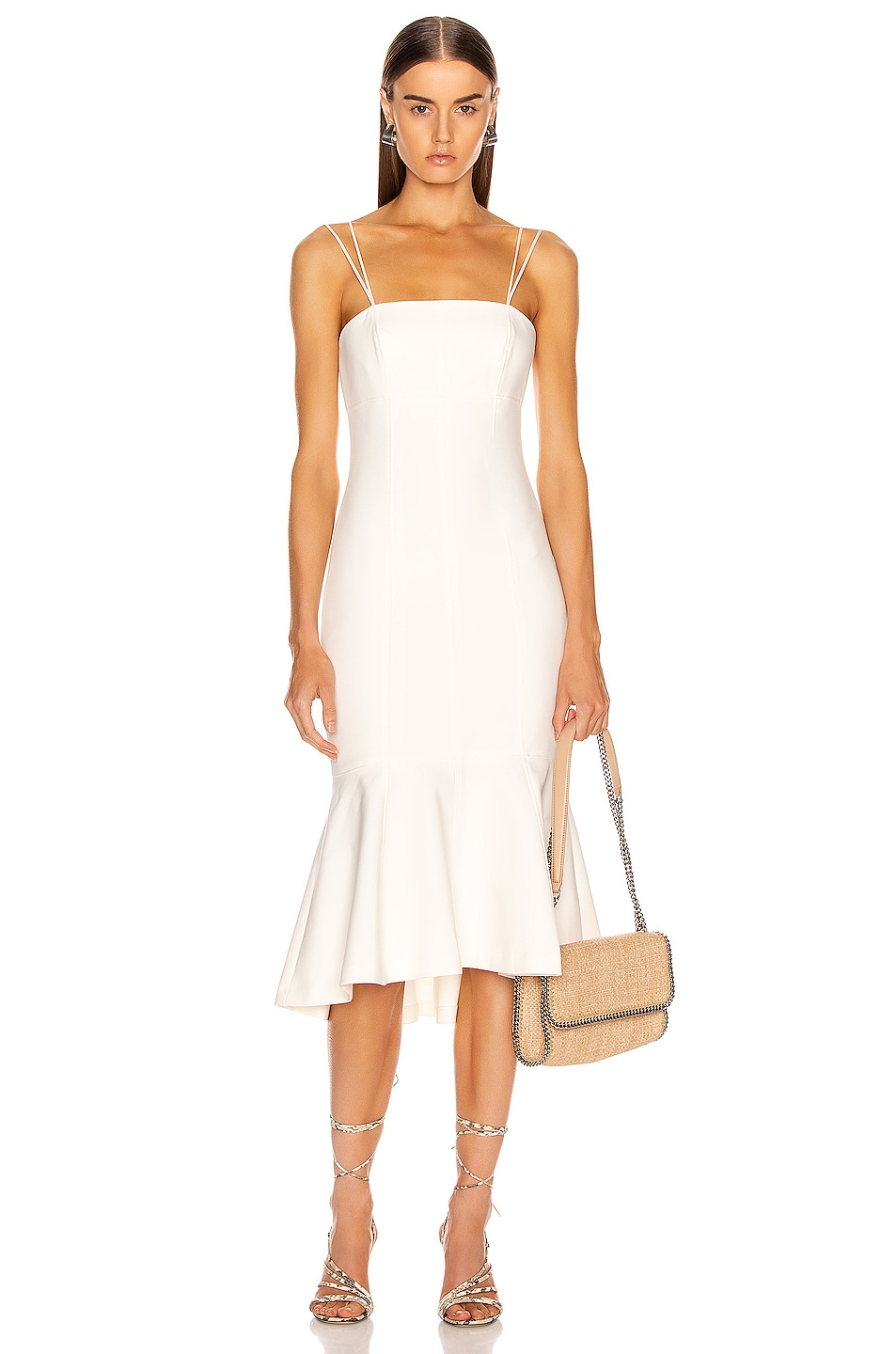 Image 1 of Cinq a Sept Salina Dress in White
