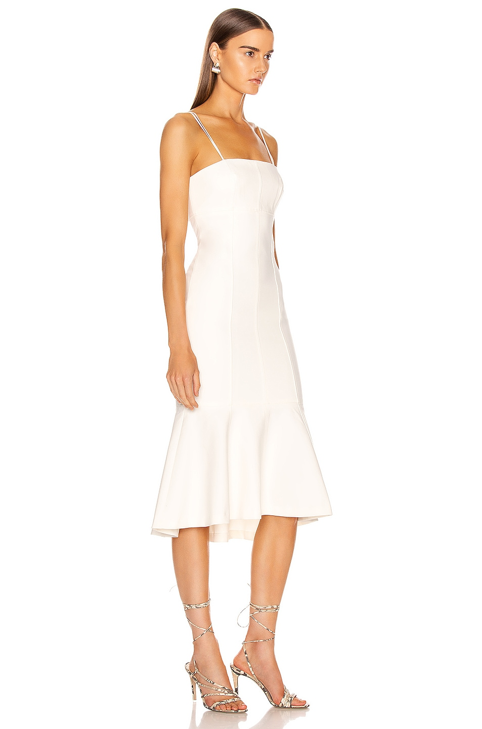 Image 2 of Cinq a Sept Salina Dress in White