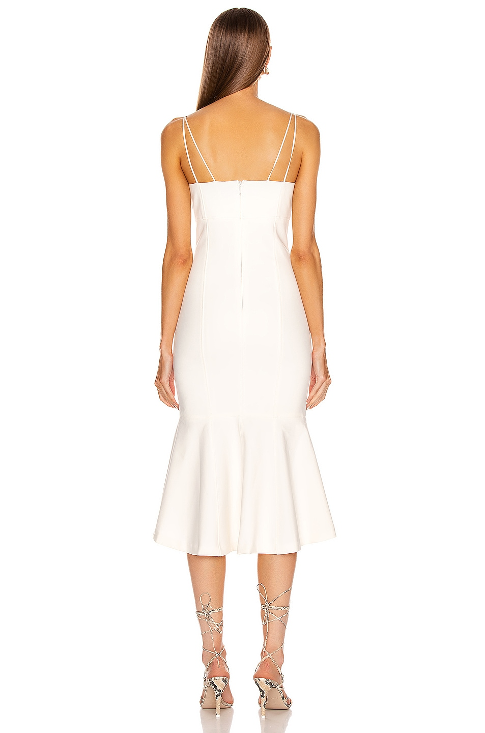 Image 3 of Cinq a Sept Salina Dress in White