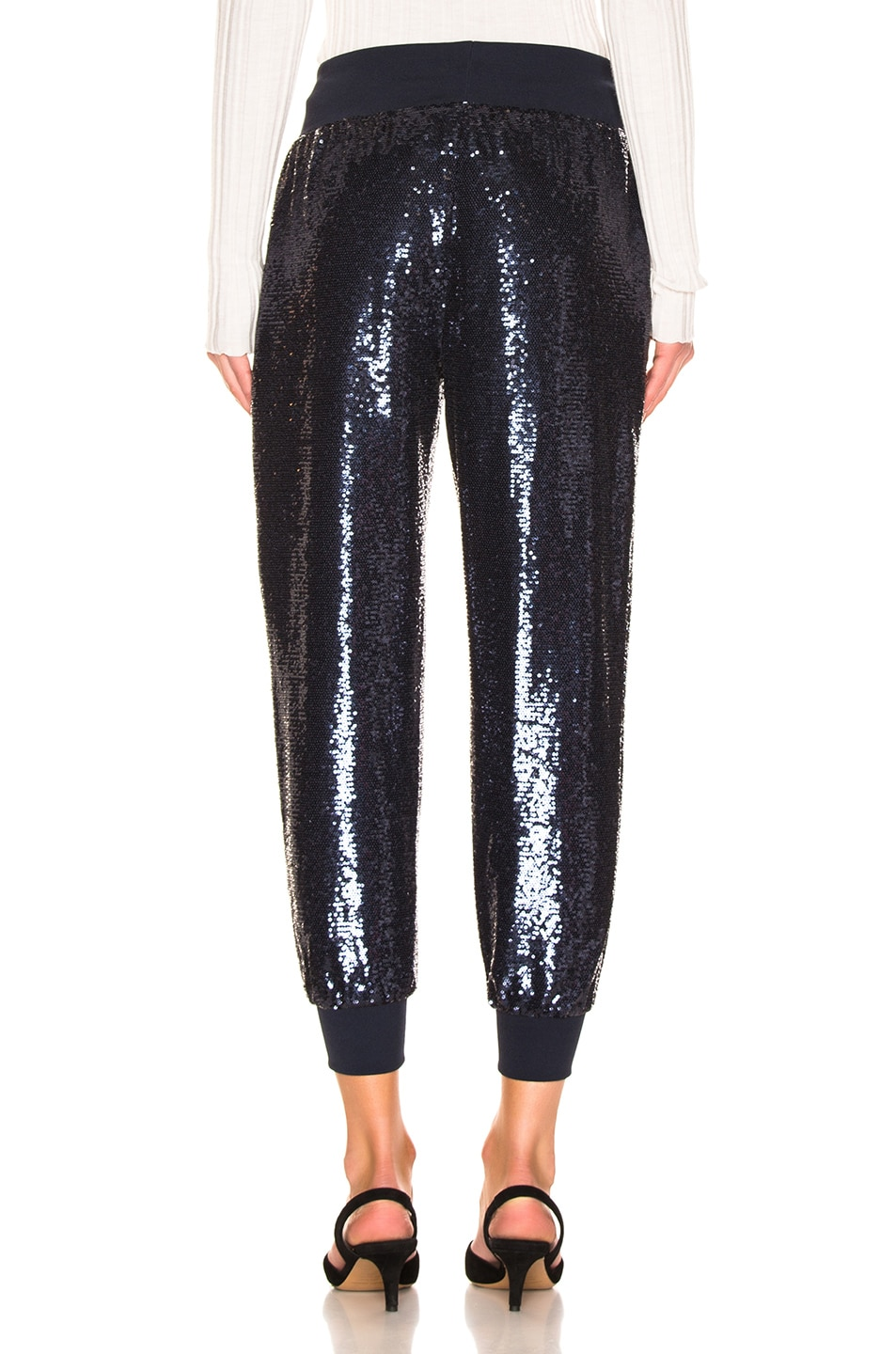 Image 3 of Cinq a Sept Sequin Giles Pant in Navy