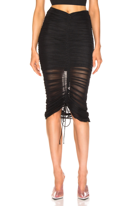 Image 1 of Cinq a Sept Aren Skirt in Black