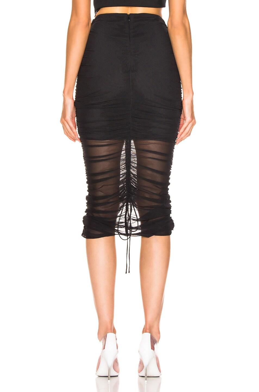 Image 3 of Cinq a Sept Aren Skirt in Black