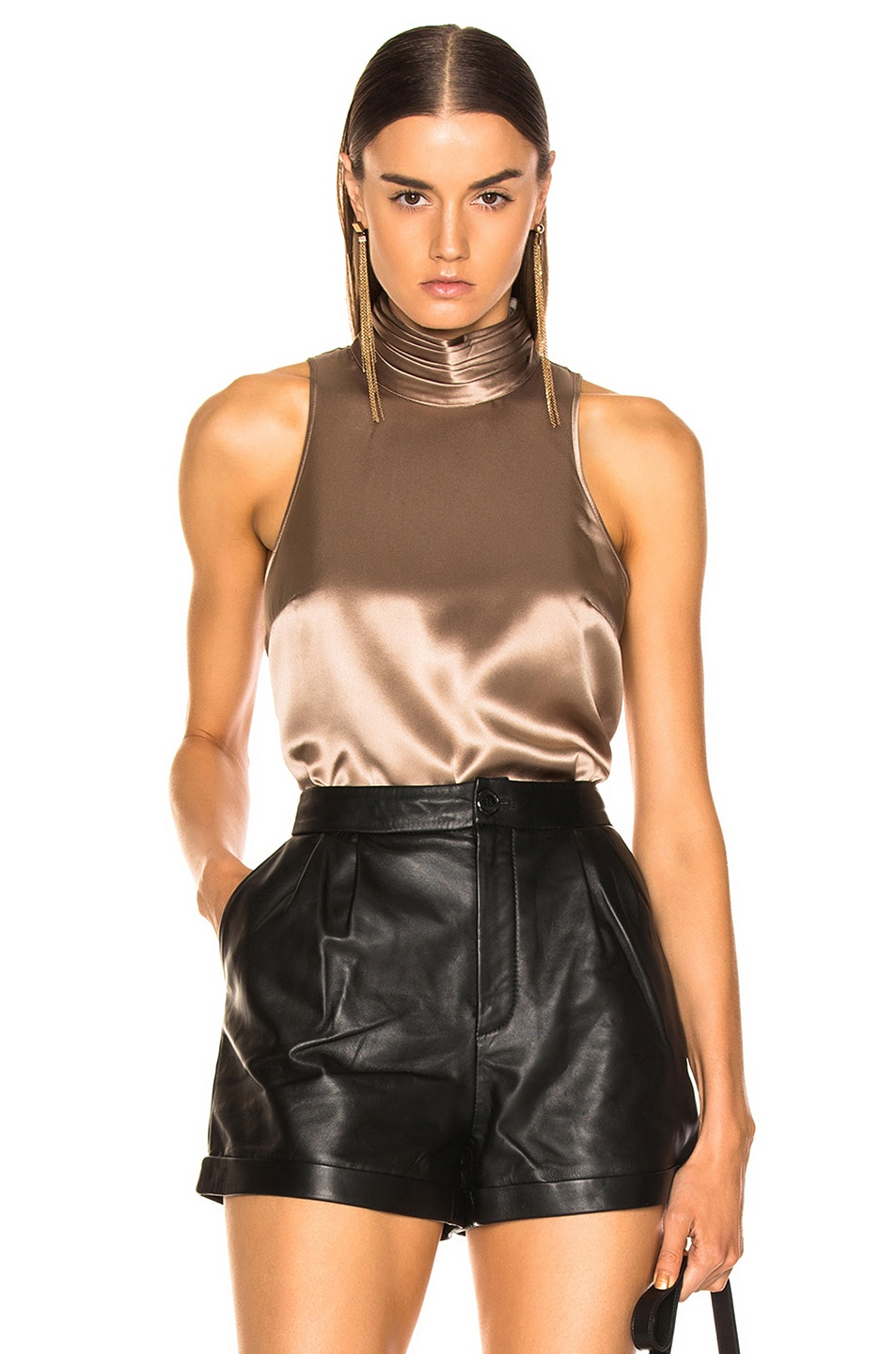 Image 1 of Cinq a Sept Jazlyn Top in Pewter