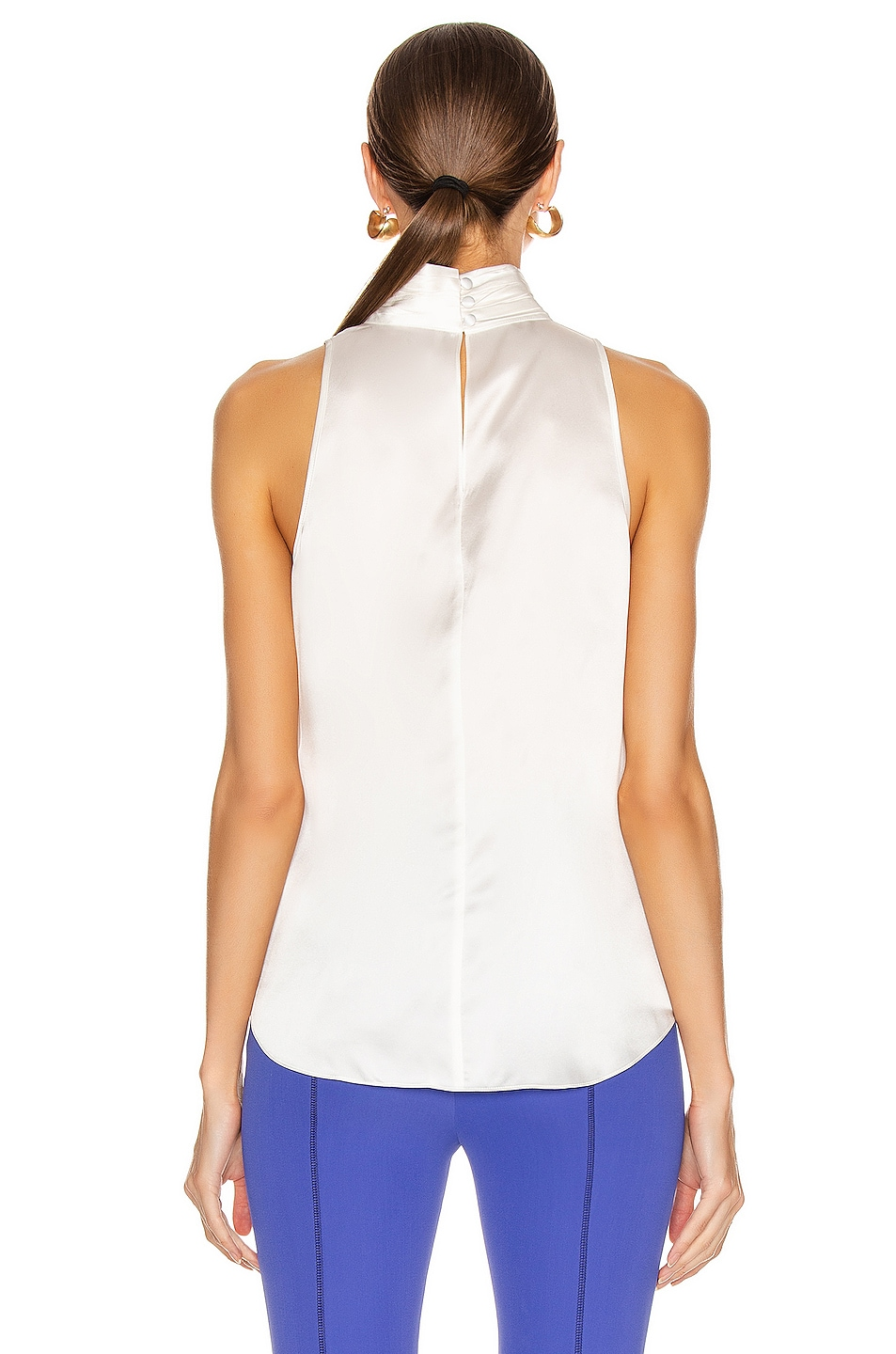 Image 3 of Cinq a Sept Jazlyn Top in Ivory