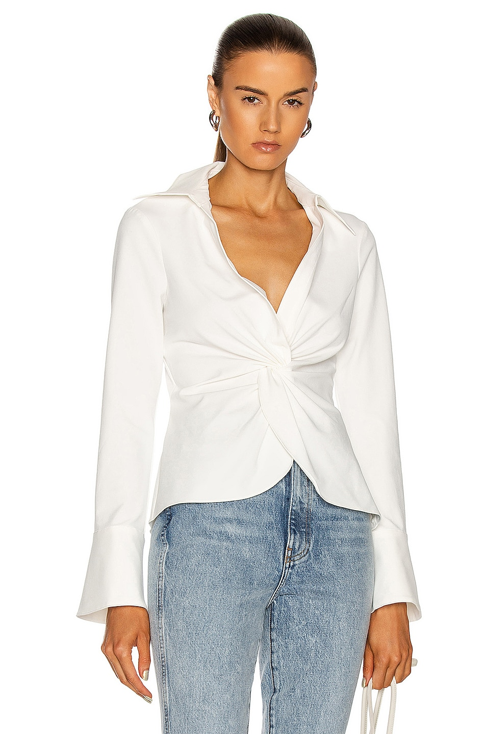 Image 1 of Cinq a Sept Mckenna Top in Ivory