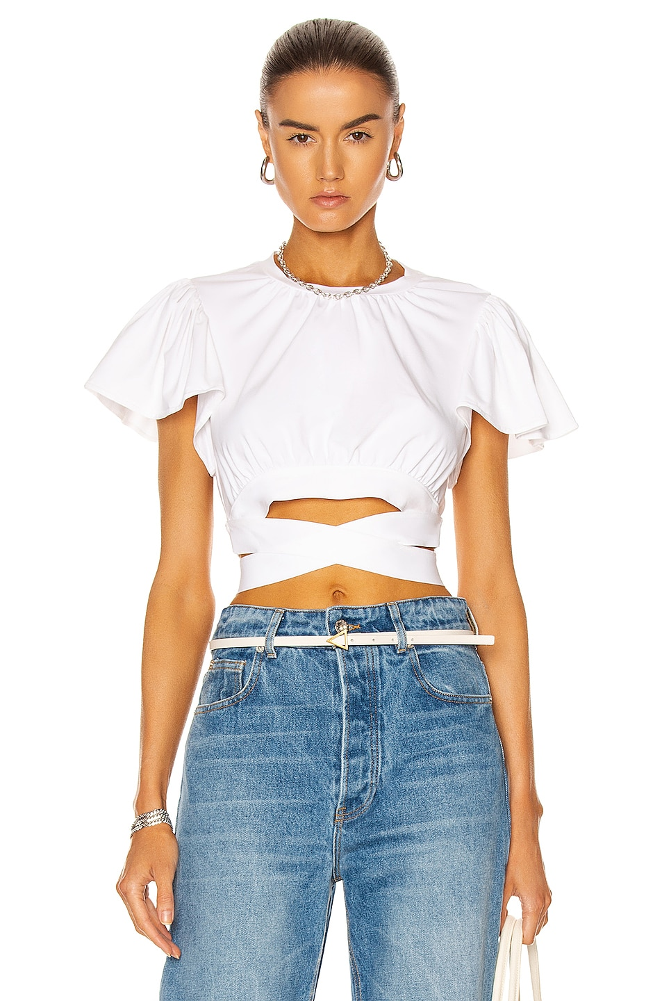 Image 1 of Cinq a Sept Christie Top in White