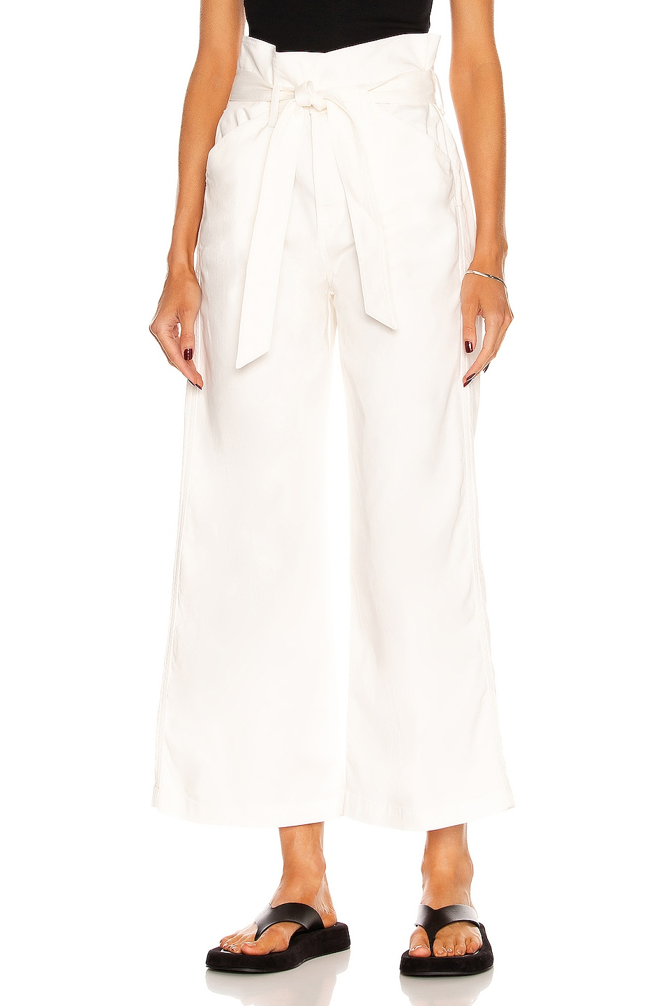 Image 1 of Citizens of Humanity Louvelle Belted Wide Leg Pant in Cassia