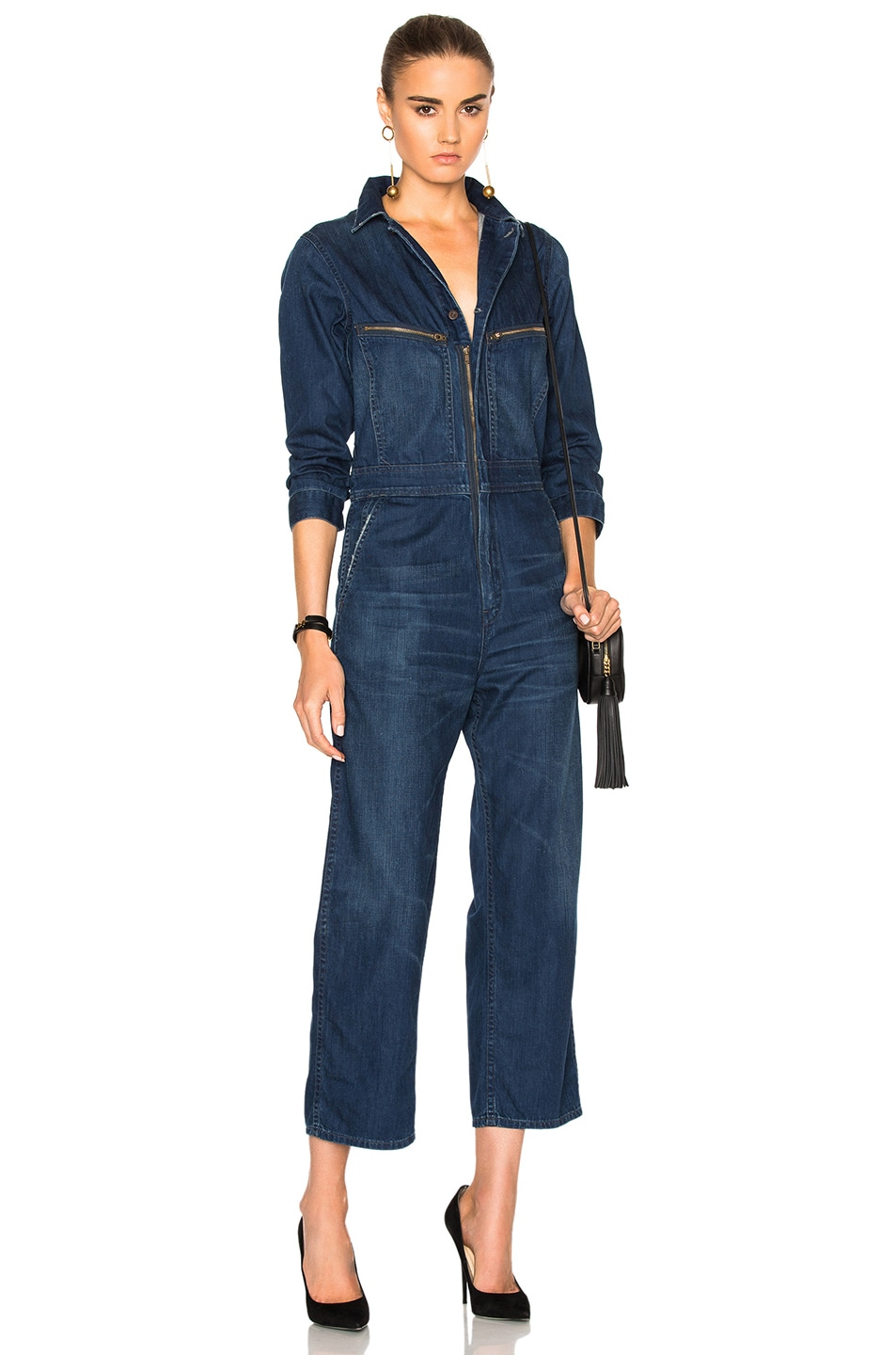 41adb8a9cf97 Image 1 of Citizens of Humanity Sylvie Worker Jumpsuit in Shoreham