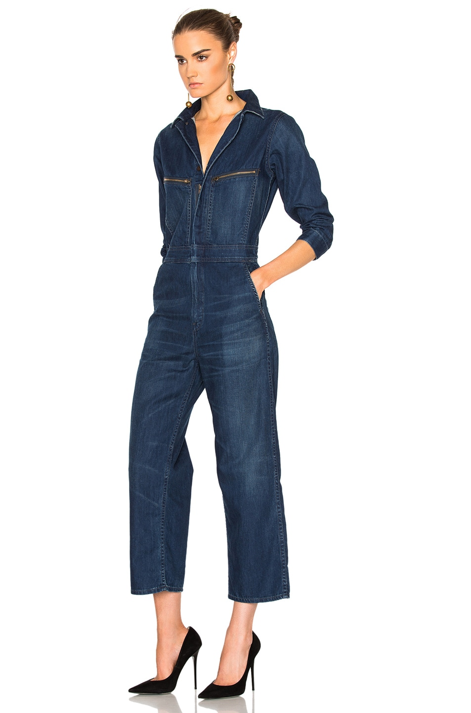 7ebe7fa0f9bc Image 2 of Citizens of Humanity Sylvie Worker Jumpsuit in Shoreham