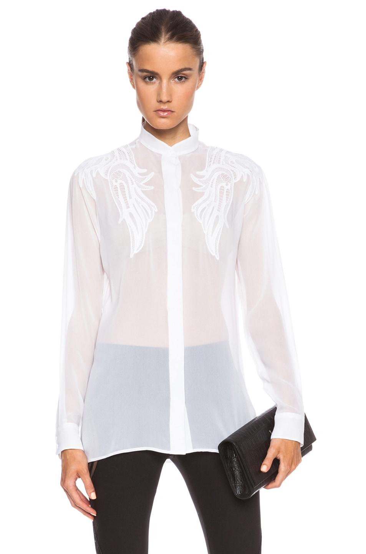 Image 1 of Christopher Kane Motif Shirt in White
