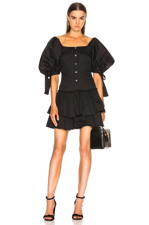 Caroline Constas Nella Dress in Black