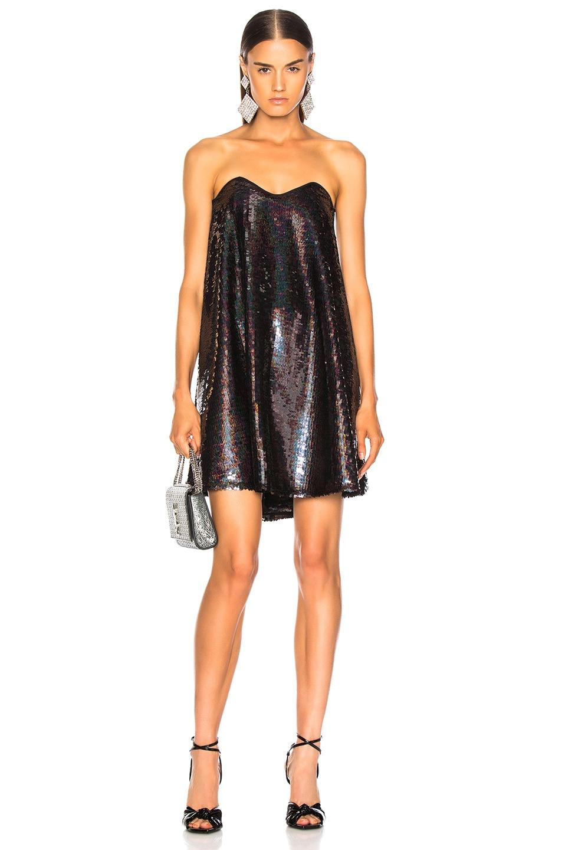 Image 1 of Caroline Constas Gab Dress in Black