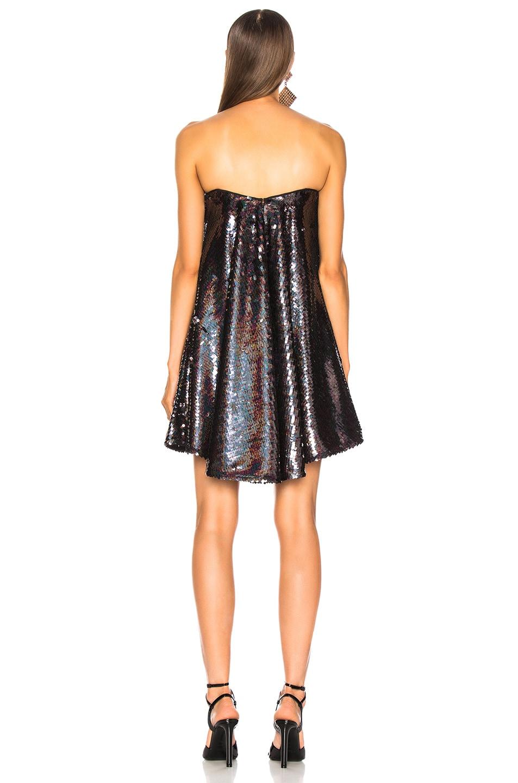 Image 3 of Caroline Constas Gab Dress in Black