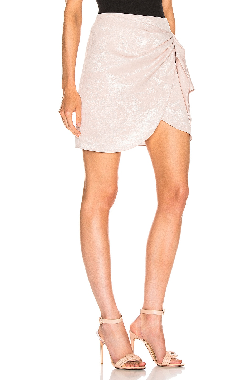 Image 2 of Caroline Constas Koren Skirt in Blush