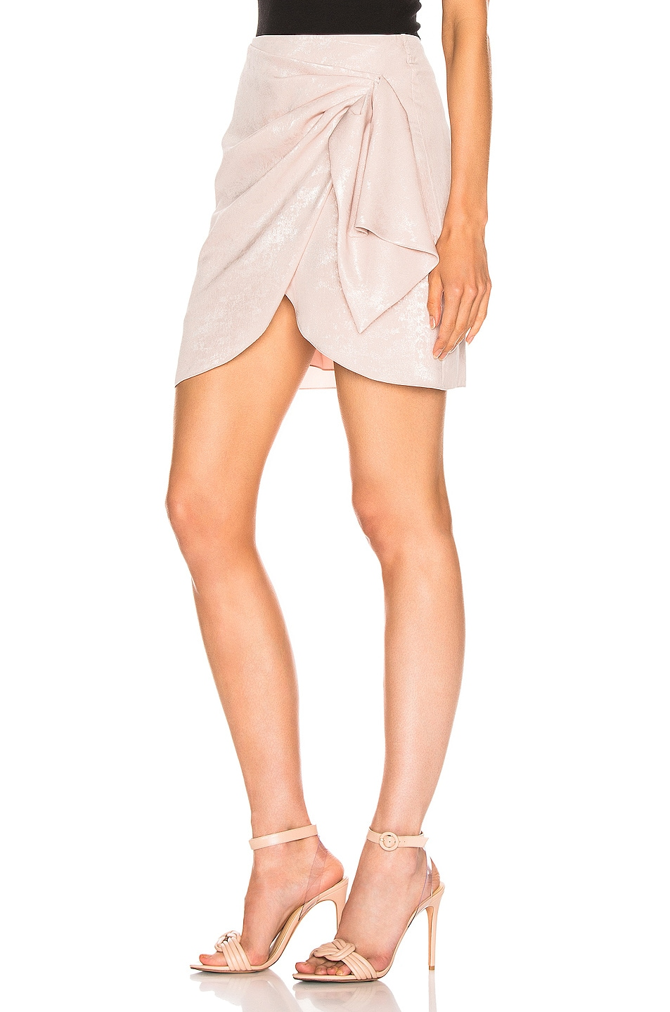 Image 3 of Caroline Constas Koren Skirt in Blush