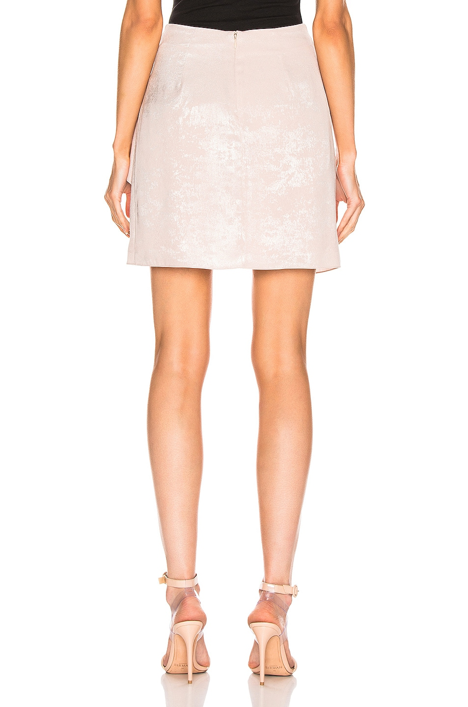 Image 4 of Caroline Constas Koren Skirt in Blush