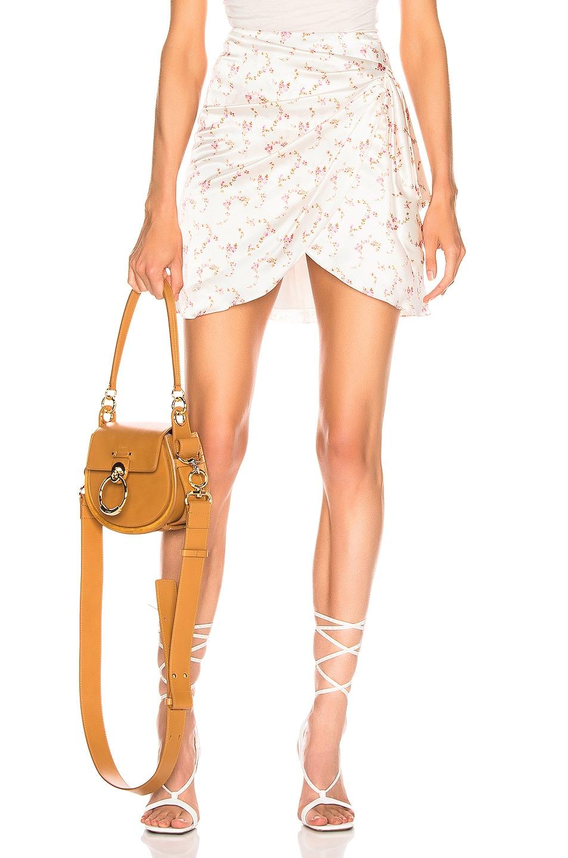 Image 1 of Caroline Constas Koren Skirt in White