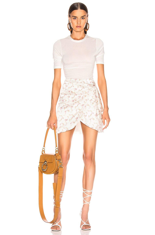 Image 5 of Caroline Constas Koren Skirt in White
