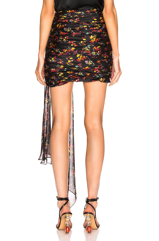 Image 4 of Caroline Constas Kira Skirt in Black