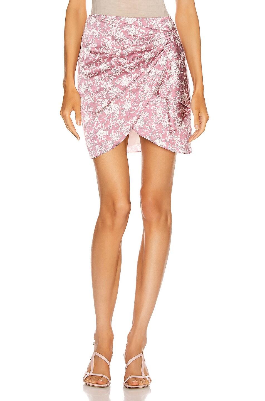 Image 1 of Caroline Constas Koren Skirt in Mauve