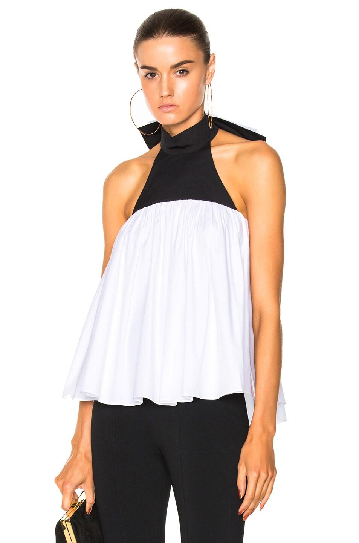 Image 2 of Caroline Constas Bo Top in White