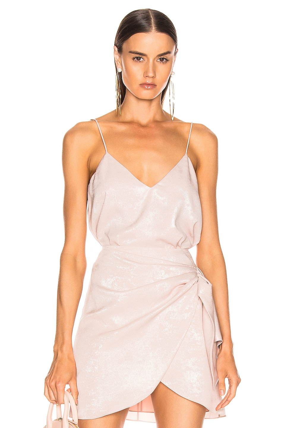 Image 1 of Caroline Constas Slip Tank in Blush