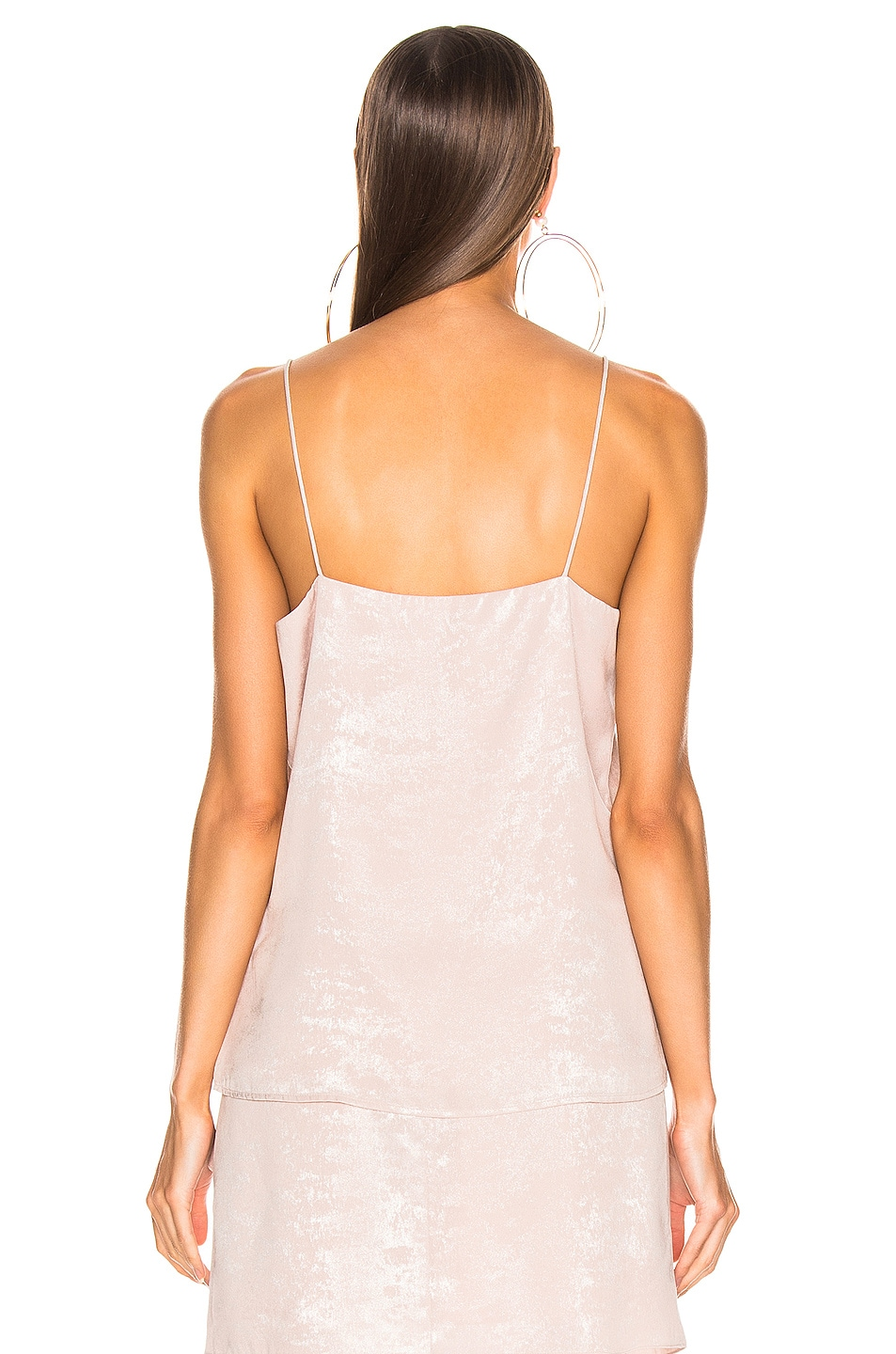 Image 3 of Caroline Constas Slip Tank in Blush