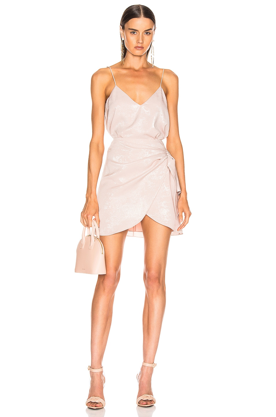 Image 4 of Caroline Constas Slip Tank in Blush