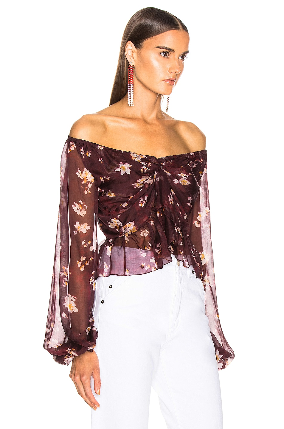 Image 2 of Caroline Constas Onira Top in Bordeaux