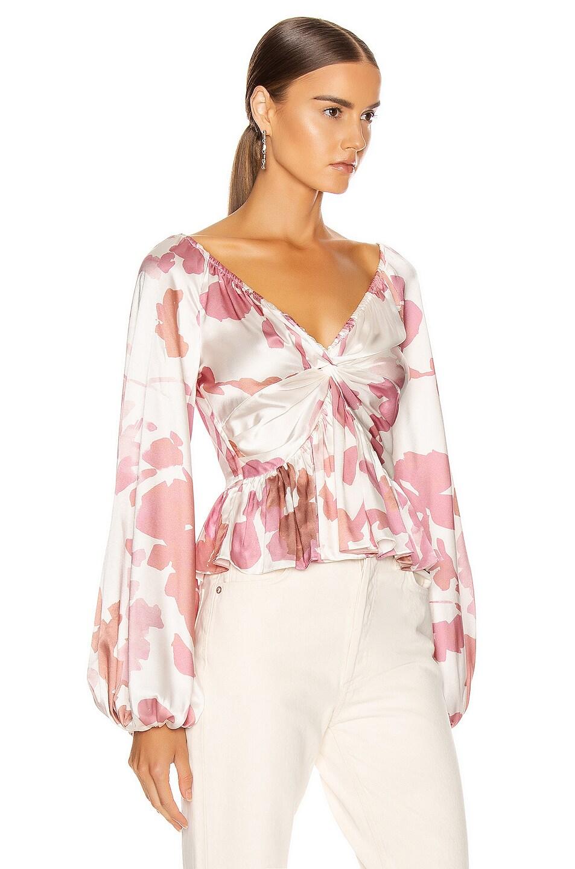 Image 2 of Caroline Constas Onira Top in Blush