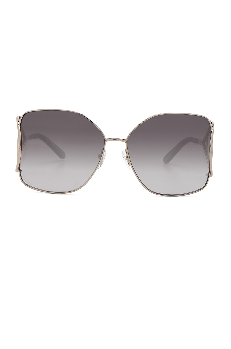 Image 1 of Chloe Jackson Sunglasses in Gold & Grey