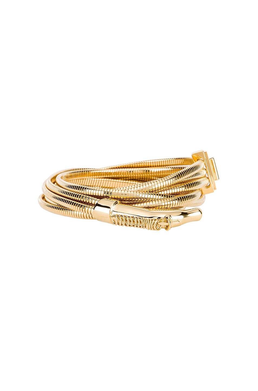 Image 3 of Chloe Brass Belt in Gold