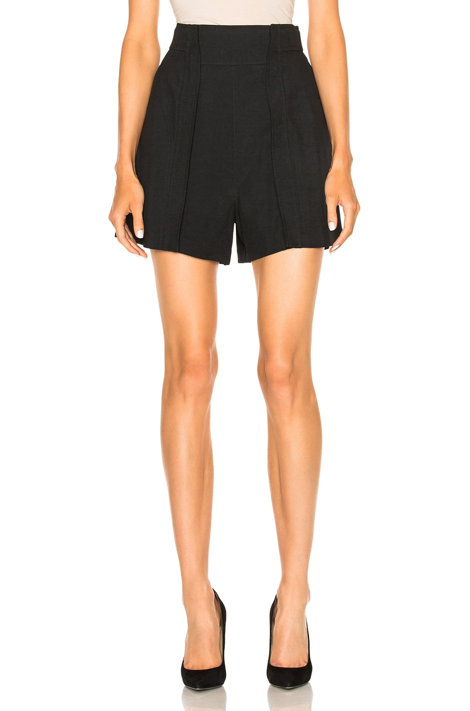 Image 1 of Chloe Light Cady Shorts in Black