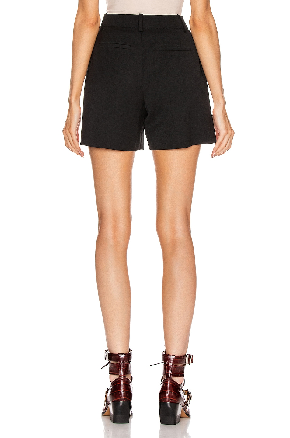 Image 3 of Chloe Tailored Short in Black